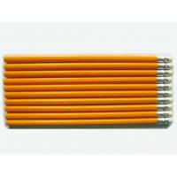 Quality 7 Inches HB Natural Wooden Pencil WithRubber Yellow Pencil wholesale