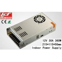 Quality Intelligent Cooling 12 Volt 10 Amp Power Supply Constant Voltage Stable 360W wholesale