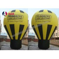 Cheap Colorful Inflatable Hot Air Balloon ,  Custom Advertising Blow Ups With Logo for sale