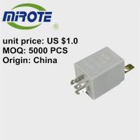 China Automotive Intermittent Windshield Wiper Motor Relay 0986335058 Thermal Overload Protection For Electric Motors on sale