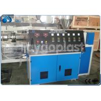 Quality PP / PE / PET Pipe Plastic Extruder Machine Single Screw High Carrying Capacity wholesale