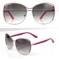 Quality UV Protection Fashion Women Metal Frame Sunglasses with Polarized Lens wholesale