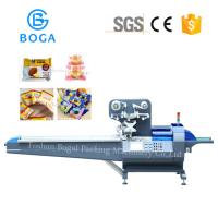 Quality High Speed Bakery Packaging Equipment / Bread Bin Candy Pillow Pack Machine wholesale