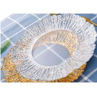 Quality Gold Color Plating Tree Pattern Glass Fruit Plate / Customized Clear Glass Dinnerware wholesale