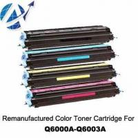 Quality Remanufactured HP Color Toner Cartridge Q6000A~Q6003A wholesale