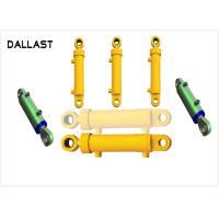 Quality Mid Pressure Loader Farm Hydraulic Cylinders Double Acting Welded Agricultural Trucks wholesale