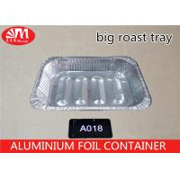 China 5800ml Volume Roast Aluminum Turkey Pan , Aluminium Foil Baking Trays For Barbeque on sale
