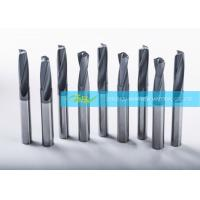 Quality ISO Solid Carbide Drill For HRc42 Steel Power Drilling , Hard Metal Drill Bits wholesale