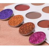 Quality Waterproof Glitter Eyeshadow Palette Mineral Ingredient Suit For All Skin wholesale
