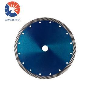 China 4 5 6 7 8'' Hot Pressed Sintered Bevel Turbo Diamond Saw Blades for Cutting Brick Pavers Granite Sandstone Concrete on sale
