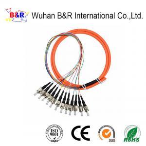 China UPC Multimode 3.0mm OM1 Fiber Optic Pigtail on sale