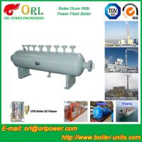 Quality Power plant boiler spare part mud drum ORL Power ISO9001 certification manufacturer wholesale