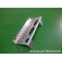 Quality Motorcycle Sheet Metal Bending Side Cover Metal with Holes , Aluminium 5052 wholesale