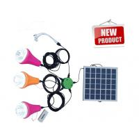 China Portable Solar Camping Lights/Solar Power System with remote control on sale