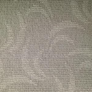 China Modern Design Home Floor Gray Wool Nylon Blend Carpet , High Low Loop on sale
