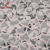 Cheap Fashion Swiss Lace Fabric 140cm Width / Embroidered Bridal Lace Fabric for sale