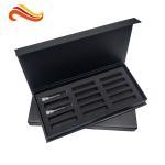 Black Custom Paper Packaging Box , Custom Printed Gift Boxes For Perfume Bottle
