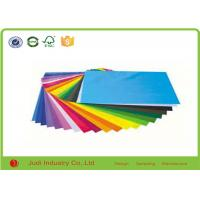 China Decoration Solid Color Wrapping Paper , Gravure Printing Fluorescent Crepe Paper on sale