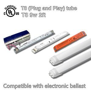 Energy Saving 600mm SMD LED T8 Tube Light 9W Led Fluorescent Tube Light