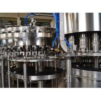 Quality 9KW 380V Carbonated Drink Filling Machine 8000BPH Liquid Filling Machines wholesale