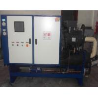 Quality Water Cooled Screw Chillers With High/LowPressure Switch RO-120WS Cooling Capacity 120KW 3N-380V / 415V - 50HZ / 60HZ wholesale