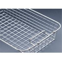 China Custom Medical Disinfection Stainless Steel Wire Mesh Baskets on sale