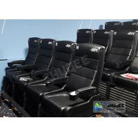 Quality Update 4D Theater Equipment Seats With Three Ultra Features And Physical Effect Technology wholesale