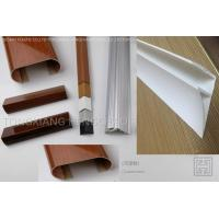 Buy cheap 4CM Glossy Extruded Plastic Profiles Top Clip For Room Roof Garden Drainage from wholesalers