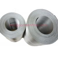 Quality 152 30 Filter Stainless Steel Wire Mesh Belt For Screen Changers , Reverse Dutch Weave wholesale