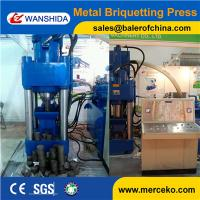 Quality China Scrap Metal Briquetting Presses to press Cast iron sawdust and copper sawdust chips wholesale