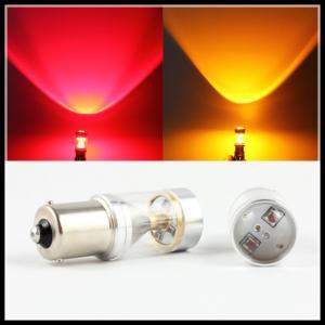 China CREE 30W 6SMD 1157 BAY15D 1156 BA15S P21W LED Brake light Reverse Tail parking Light Bulb on sale