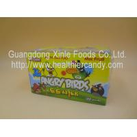 Quality Angry Bird 11g Low Calorie Candy Bar Mix Fruit CC Chubby Stick Curvy Candy wholesale