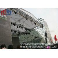 Buy cheap Galvanized Steel Layer Space Frame Truss Adjustable Base Stable Structure from wholesalers