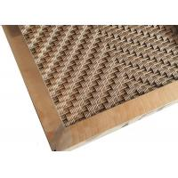Quality Custom Design Pattern Hole Exterior Wall Cladding Panel With Square Tube Frame wholesale