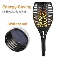 Buy cheap Energy Saving Dancing Flame Solar Lawn Torch Light / Solar Lamps For Garden from wholesalers