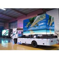 Quality Energy Saving Truck Mobile LED Display P5 / P6 / P8 / P10 Weather Resistant Cabinet wholesale