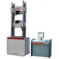 Quality 2000kn Hydraulic Pressure Testing Machine 60mm / Min Max Piston Moving Speed wholesale