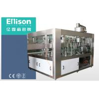 Quality PLC Carbonated Drink Filling Machine Balanced Pressure Automatic Bottle Filling Machine wholesale