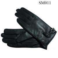 Quality Ladies sheep genuine leather gloves high quality at cheap price SM011 lady leather glove wholesale
