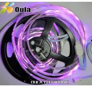 Quality 12v DC Ushine 4.8W / m Flexible LED Strip Lights 120° With Warm White, Non Waterproof wholesale