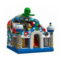 Quality Out Space Inflatable Bouncy Castle Slide Combo Jumper 1 Year Warranty wholesale