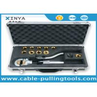 China 60 KN Output Manual Hydraulic Cable Lug Crimping Tool with Safety Valve on sale