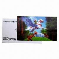 Quality 3D Lenticular Card, Wonderful Designs, More Fresh and Clear Colors wholesale