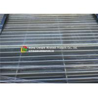 China Walkway Hot Dipped Galvanized Steel Grating Light Structure Heat Dissipation on sale