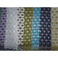 Quality Soft Baby African Lace Fabric Cotton For Party ,Knitted Lace wholesale
