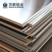 Cheap Metal Alloy Flat Aluminum Plate 600 - 2280mm Width High Strength For Constructio for sale