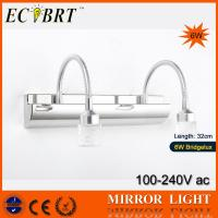 Quality ECOBRT*#5660 6W K9 Crystal Bathroom Mirror Wall lights Lamp Using Bridgelux High Power led wholesale