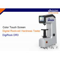 China Touch Screen Digital Rockwell Hardness Tester With Motorized Loading Control on sale