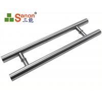 Quality ASTM Stainless Steel Pull Handle Tempered Glass Door Handle 304 Material wholesale