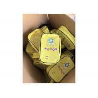 Buy cheap Modern Customized Printed Zipper Yellow PVC Bag For Carrying Toolkit from wholesalers